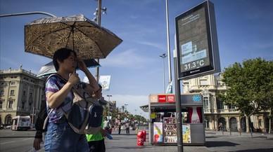 Mig Espanya, a més de 35 graus