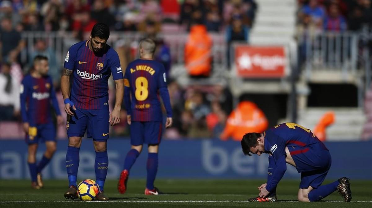 Messi, en el Barça-Celta del pasado sábado.