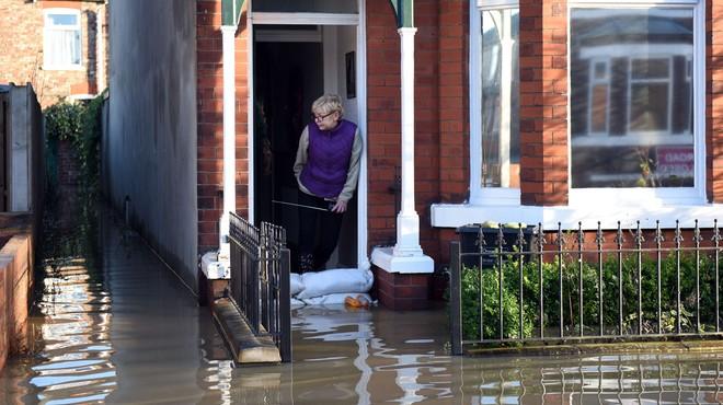 Inundacions sense precedents al nord d'Anglaterra