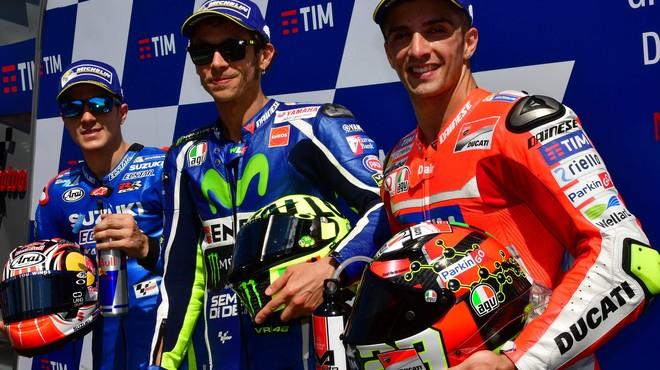 Viñales ajuda Rossi a aconseguir la 'pole' de Mugello