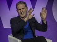 El cofundador de Netflix, Reed Hastings, en el Mobile World Congress de Barcelona.