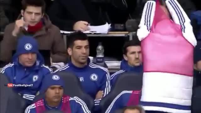Diego Costa llança un peto a Mourinho
