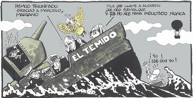 La 'legislatura interrupta', según las viñetas de Ferreres