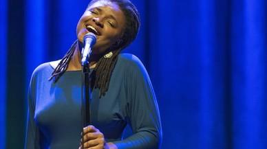 Festival Internacional de Jazz de Barcelona. Concert de Lizz Wright a l'Auditori.