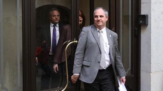 Albert Ballesta, el polémico exalcalde de Girona, retornará a su trabajo en Interior