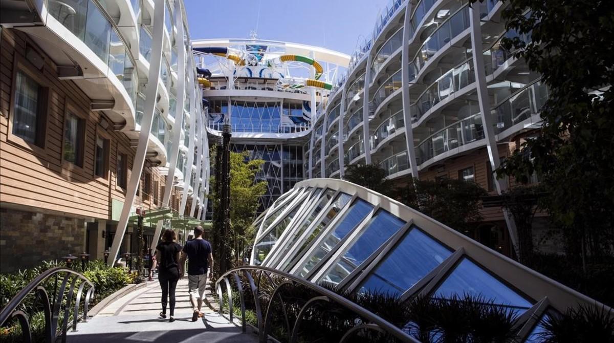 El barco del tesoro atraca en Barcelona