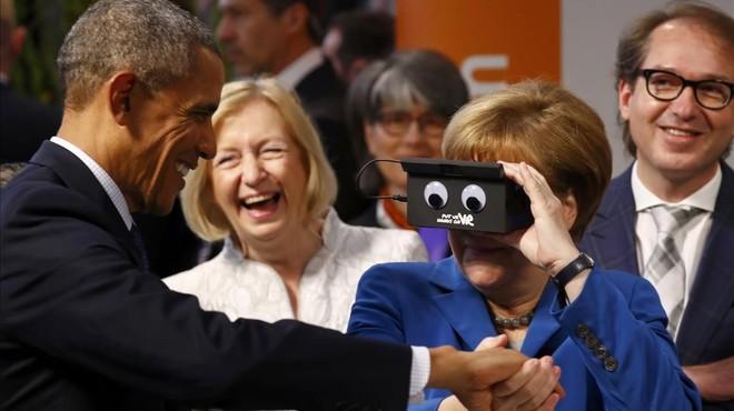 """Obama sobre Merkel: """"Està al costat correcte de la història"""""""
