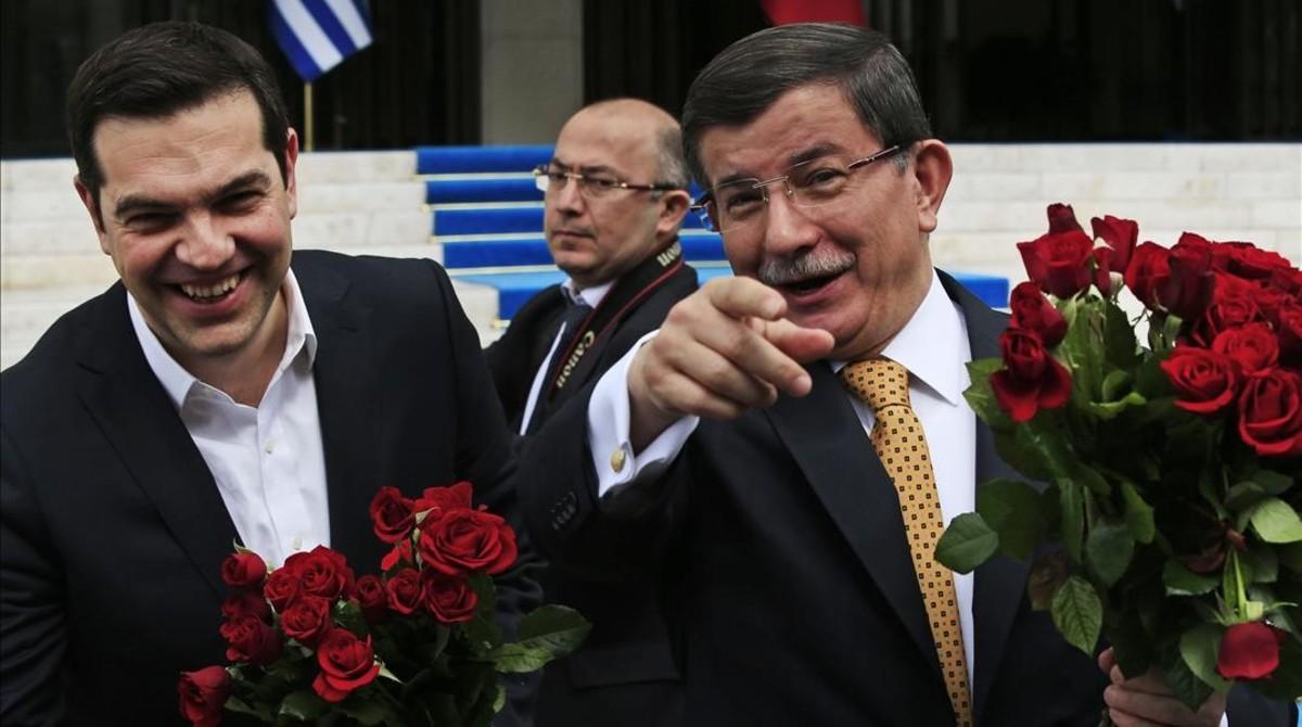 Grecia y Turqu�a empiezan a concretar c�mo ser� la devoluci�n de refugiados