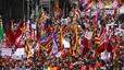 Manifestación Primero de Mayo en Barcelona