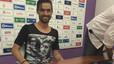 Nuno Silva crida l'atenció amb una samarreta de Franco
