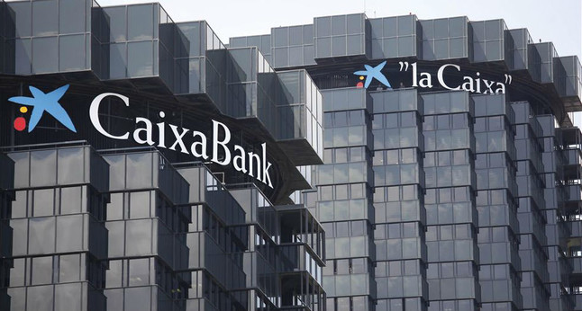 Sede central de CaixaBank en la Diagonal de Barcelona.