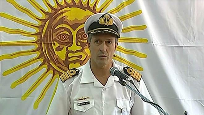 L'Armada argentina diu ara que el submarí va patir una explosió