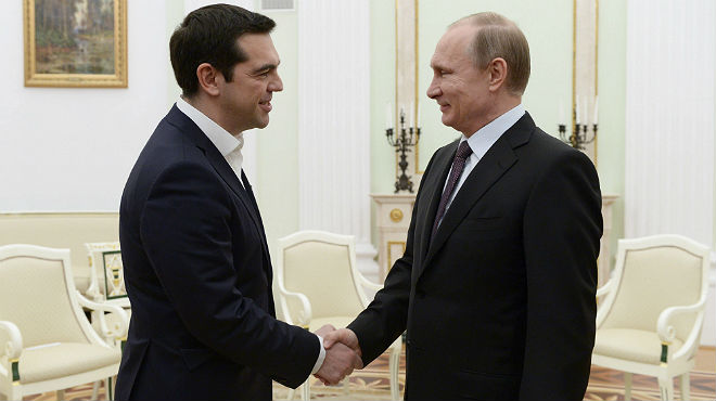 Tsipras s'acosta a Putin amb crítiques a les sancions