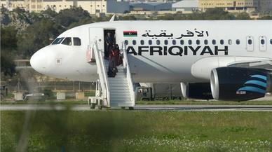 El segrest d'un avió libi acaba a Malta sense víctimes