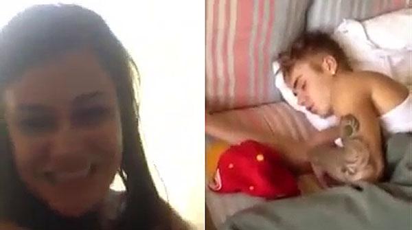 Justin Bieber, al llit amb una desconeguda