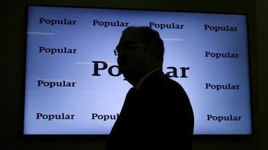 Els accionistes que més perden amb la caiguda del Popular