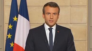 """Macron: """"No hi ha pla b perquè no hi ha planeta b"""""""