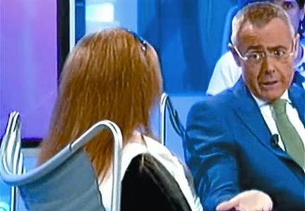 El blocaire Pablo Herreros. A l'esquerra, el polèmic 'La noria'.