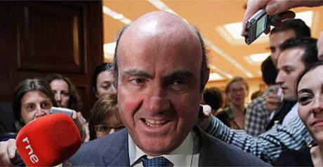 Luís de Guindos, ministro de Economía.