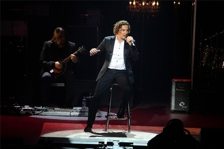 David Bisbal, en el Royal Albert Hall de Londres, esta noche pasada.
