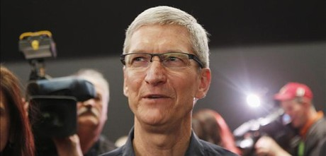 Tim Cooke, consejero delegado de Apple.