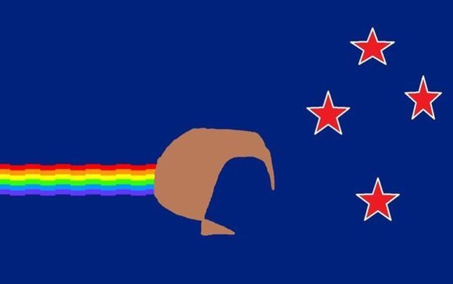 Las banderas que seguramente no tendr Nueva Zelanda