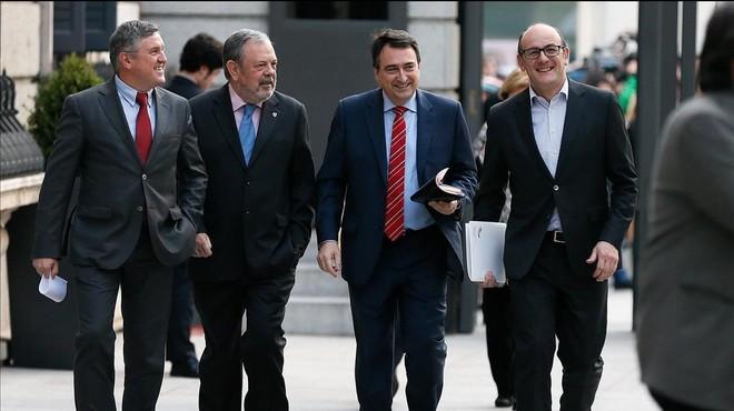El PNB aspira a 'rascar' a Madrid