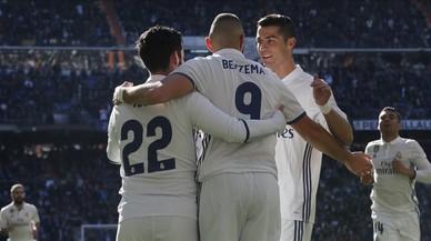 El Madrid goleja el Granada i iguala el registre del Barça de Luis Enrique, amb 39 partits sense perdre