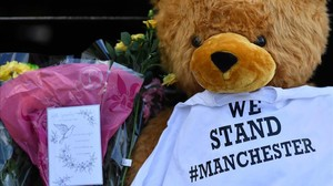 lmmarco38604003 flowers a teddy bear and messages of support are pictured 170527185031