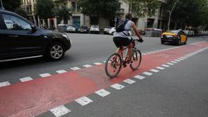 Ciclistas y conductores