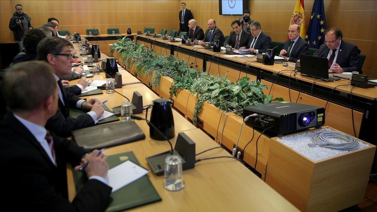 Reunión del pacto antiyihadista