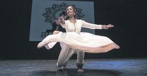 Espectáculo escénico de danza india en la sala Hiroshima, hace unos días, organizado por Espai Avinyó.