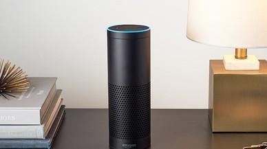 El Amazon Echo, asistente que integra Alexa.