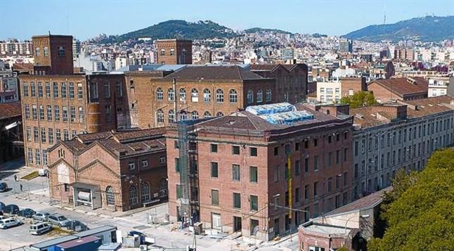 La f brica fabra i coats premio ciutat de barcelona - Barrio de sant andreu ...
