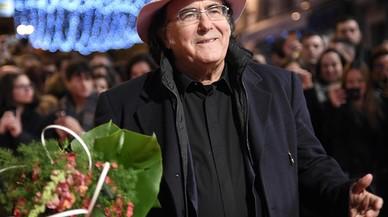 Al Bano Carrisi, a su llegada al Festival de San Remo, el pasado 6 de febrero.