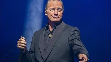 Bertín Osborne, en el concierto que ofreció el lunes por la noche en el Liceu, dentro del Suite Festival.