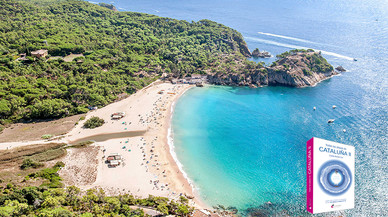 Cala Castell, la playa misteriosa de esta semana