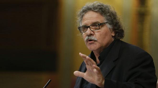 Tardà, Macias i Coscubiela s'acomiaden del Congrés parlant en català