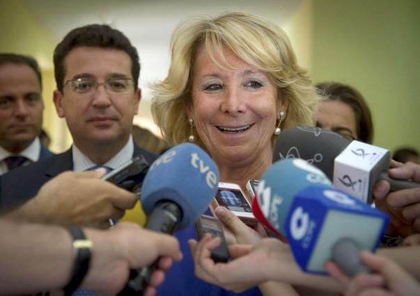 """Aguirre dice sentirse """"abochornada"""" por la corrupci�n en el PP"""