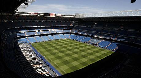 Vista gen�rica del estadio Santiago Bernab�u.