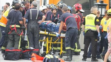 """Viatgers del tren accidentat: """"Ha sigut com un terratrèmol"""""""