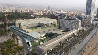 Imagen virtual del futuro complejo hospitalario del Mar.