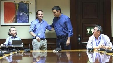 Siguen los roces entre PSOE y Podemos pese al acuerdo parlamentario