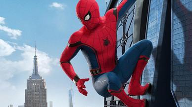Imagen promocional de 'Spiderman homecoming'.