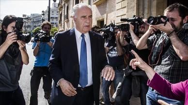 Rafael Blasco, a su salida del Tribunal Superior de Justicia de la Comunidad Valenciana, en una imagen de archivo del 2014.