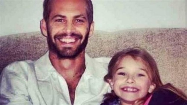 Meadow, la hija de Paul Walker, se despide del actor en Facebook