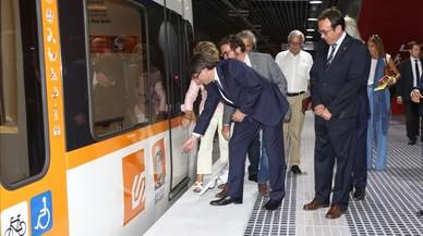 Puigdemont inaugura nuevas estaciones de FGC en Sabadell