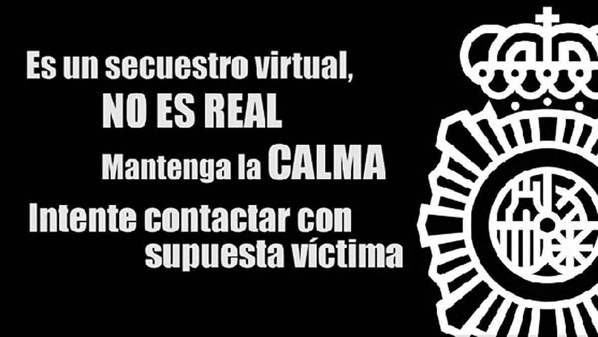 La policía alerta de un aumento de secuestros virtuales