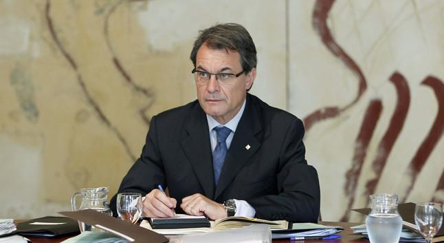 Mas confirma que l'Estat amenaça d'intervenir Catalunya