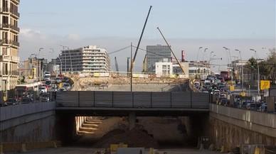 Las obras del túnel de Glòries costarán 12 millones de euros más